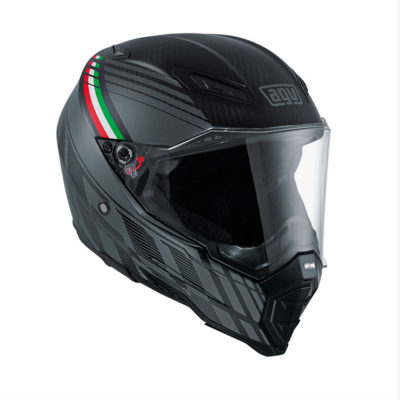 AGV AX-8 Evo Naked Carbon Black Forest Helmet