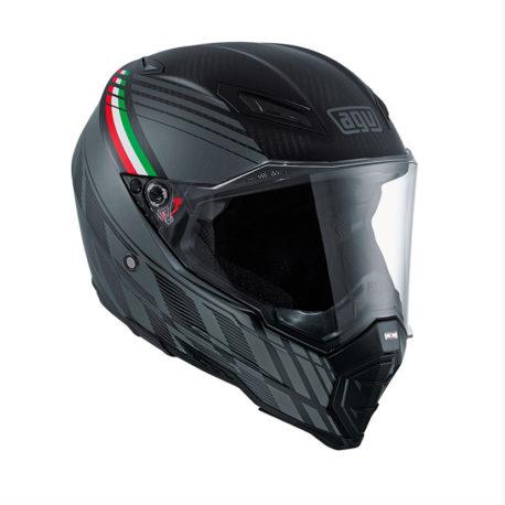 AGV AX-8 Evo Naked Carbon Black Forest Helmet