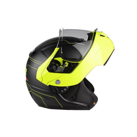 Lazer Monaco Evo Droid Pure Carbon Helmet