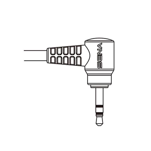 Sena 2-Way Radio Cable for Motorola Single-Pin Connector