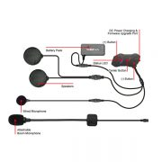 Sena SMH10R Low Profile Motorcycle Bluetooth Headset and Intercom