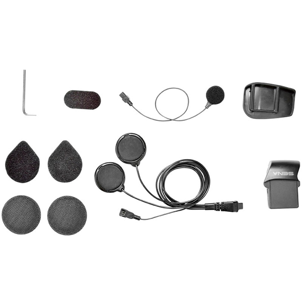 Sena SMH5 Helmet Clamp Kit Full - Wired Microphone