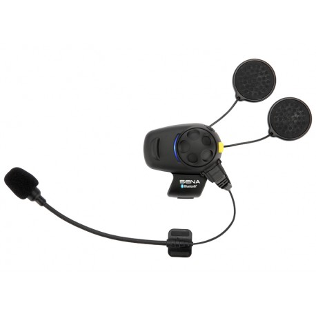 Sena SMH5-FM Bluetooth Headset & Intercom with FM Tuner Single Pack - Open Face or Flip-up