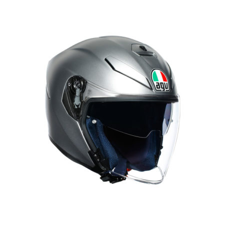 agv-k-5-jet-solid-matt-grey-1