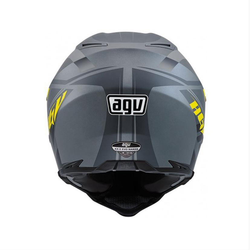 AGV AX-8 EVO Helmet - Naked Carbon - Size MD   eBay