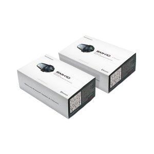 Sena SMH10 Bluetooth Headset & Intercom with Universal Microphone Kit Dual Pack