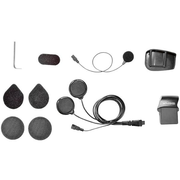 Sena SMH5 Helmet Clamp Kit Full – Wired Microphone – LSH
